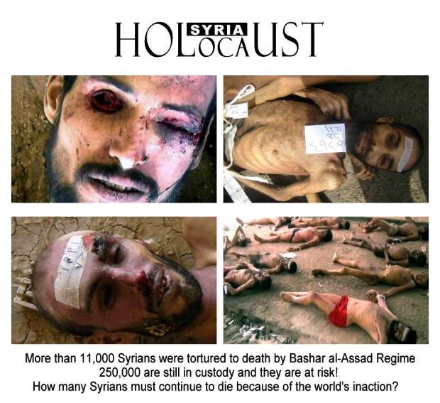 syria assad torture crime holocaust