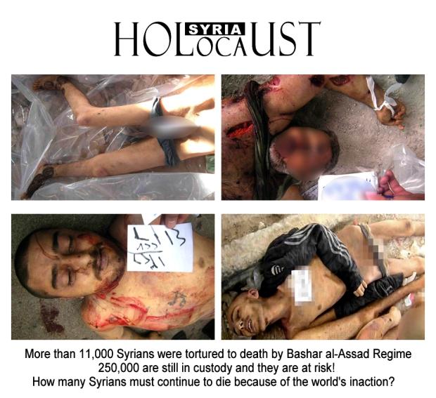 syria assad holocaust crime against humanity