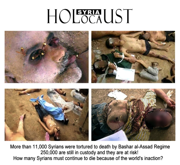 syria assad genocide crime against humanity