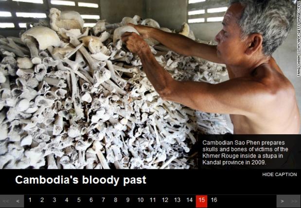Cambodia killing field