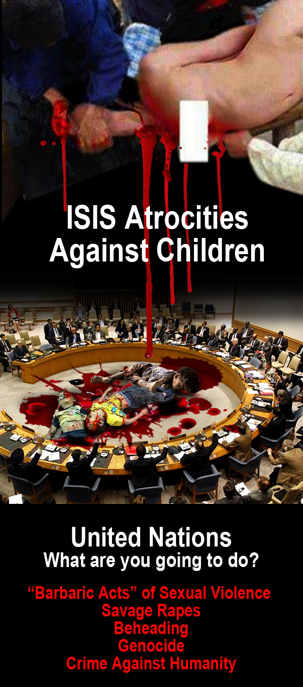 ISIS beheading christian children
