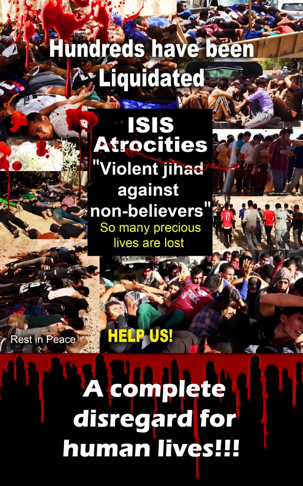 ISIS committed war crimes