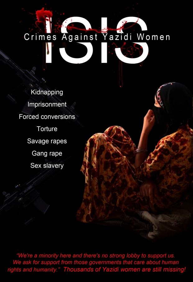 more than 1,000 women and children kidnapped by Isis.