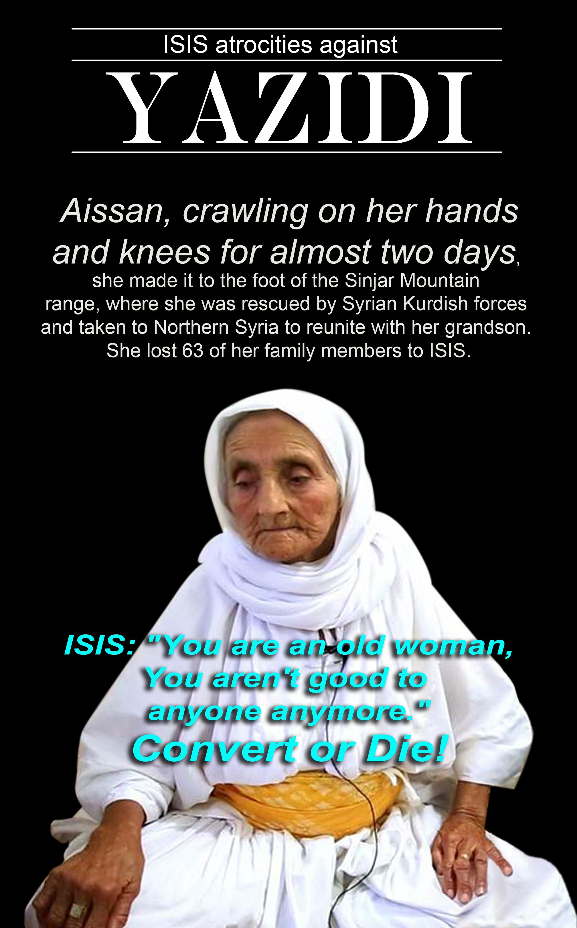 Image result for yazidi genocide