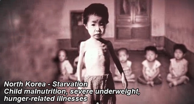 North Korea Famine, Starvation