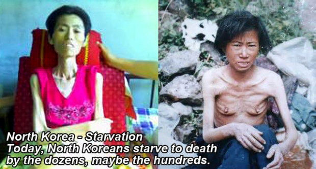 North Korea people die from hunger