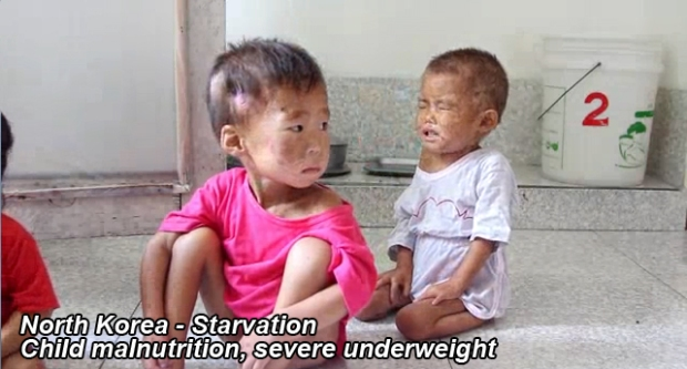 North Korea children die from hunger