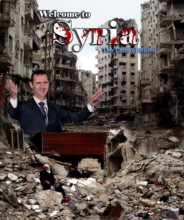 The deadly conflict in Syria