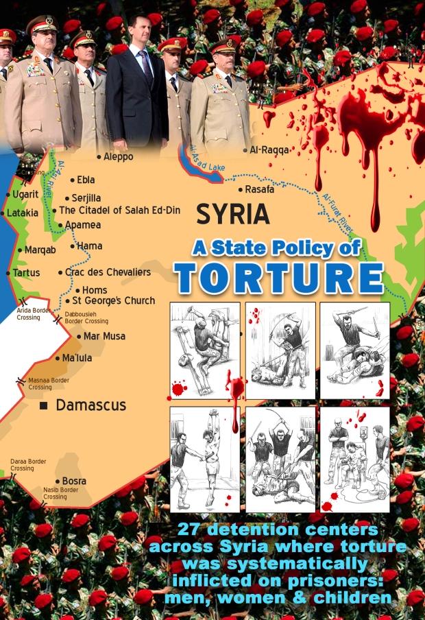 brutal torture in Syria