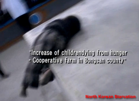 North Korea Famine - people starve to death