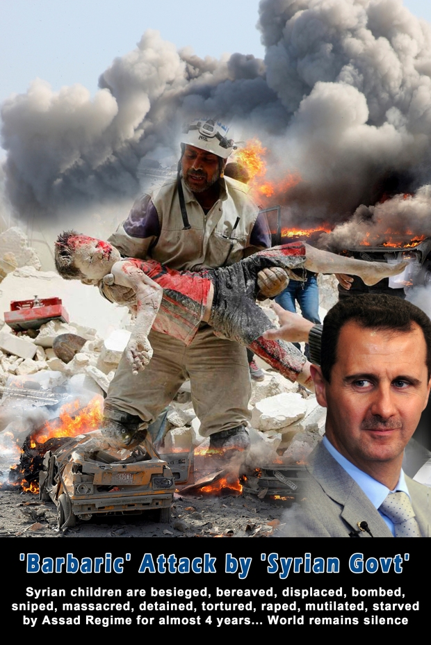 Syria Bashar al-Assad Regime Atrocities Crime against humanity