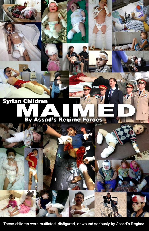 Syria Assad Regine war on childen