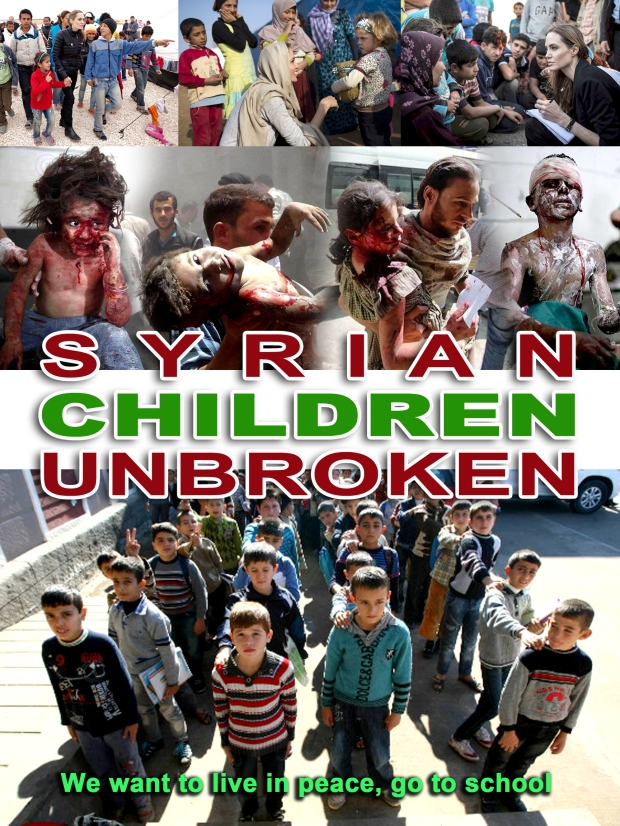 syrian children are unbroken