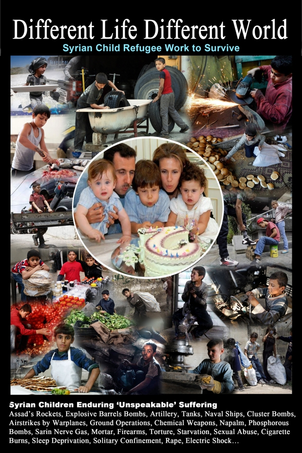 Syrian children refugees