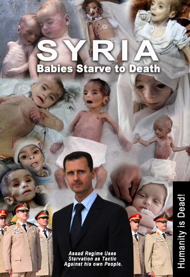 #Syrian Children are dying from the civil war