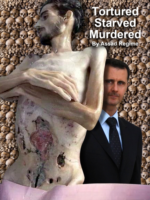 Tortured, starved, murdered by Assad's regime