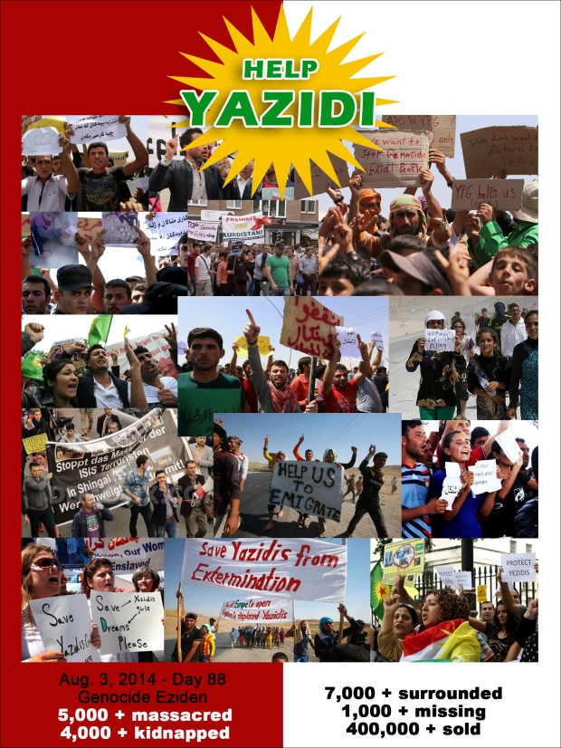 Yazidi christian genocide by isis