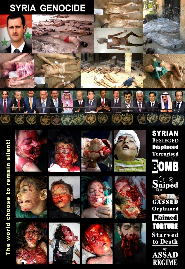 syria assad war torture crimes prisoners isis