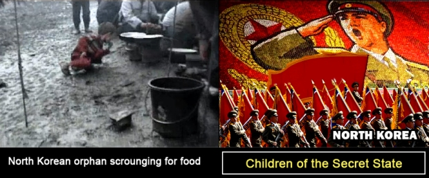 North Korea starving children orphan