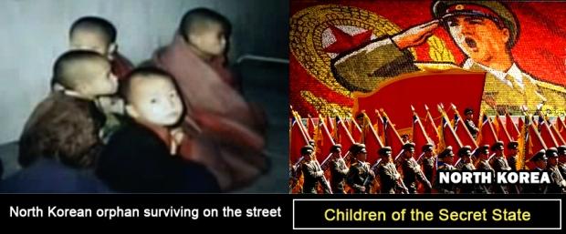 North Korean Homeless Orphan Street Children