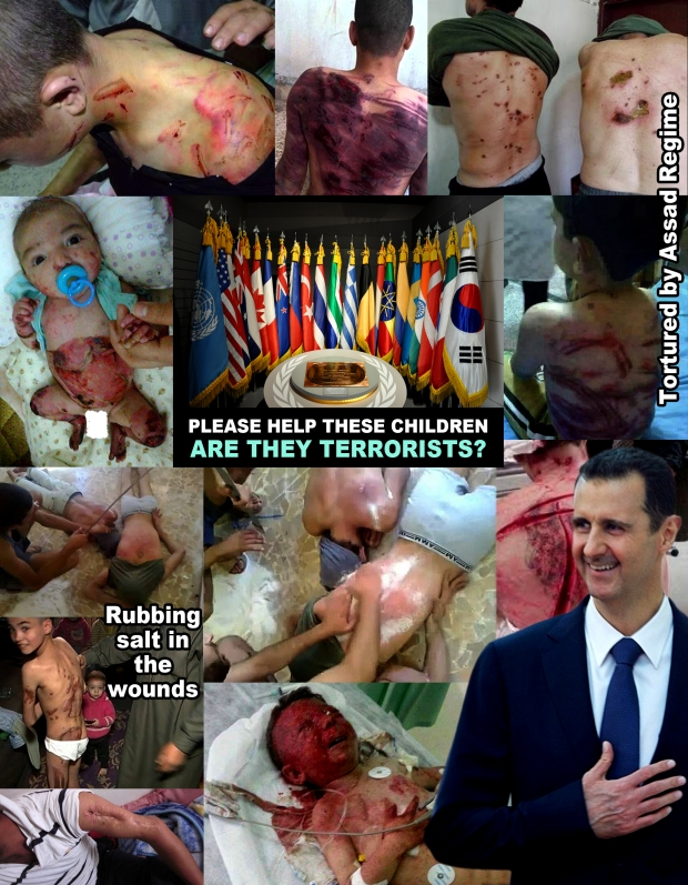 Stop Syria Assad Regime Torture Syrian Children