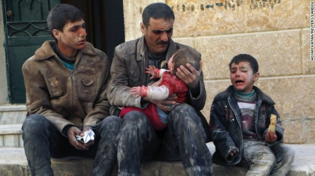 Syria Assad dropped 6,000 bombs on dense populated cities