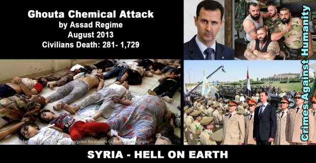 Image result for ghouta sarin attack