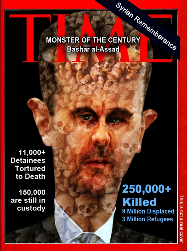 Syria Assad Regime killed 250,000 Syrian since 2011