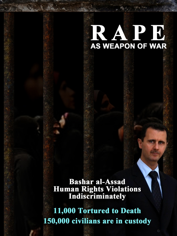 Syria Assad Regime use rape as a weapon of war