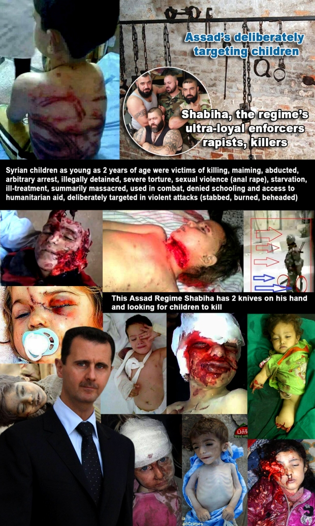 Syria Assad Regime deliberately targeting children