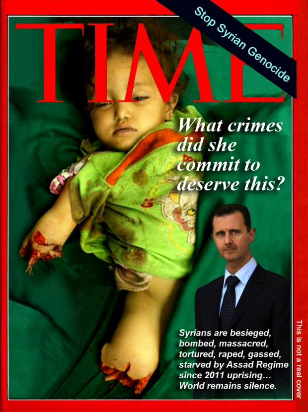 Syria Assad Regime had murdered 200,000+ his own people