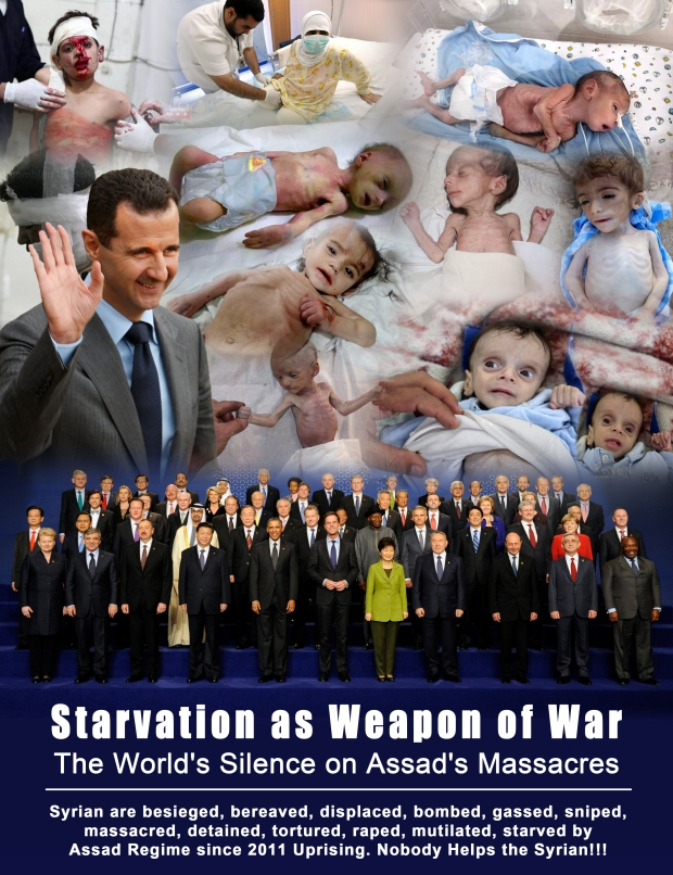 The World's Silence on Assad's Massacres