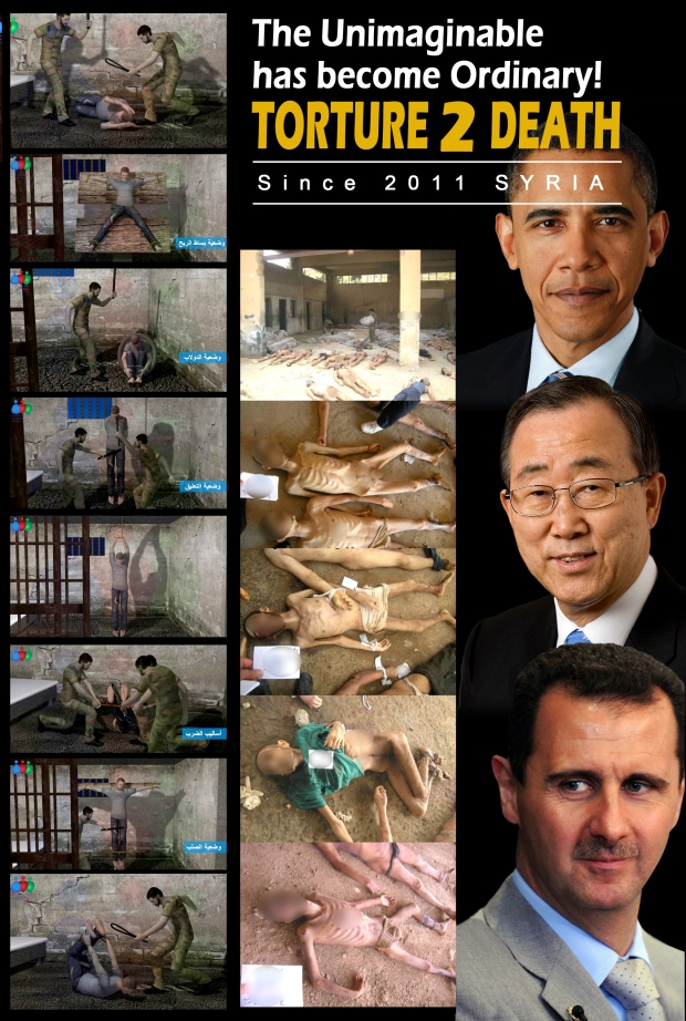 Syria Assad Regime torture detainees
