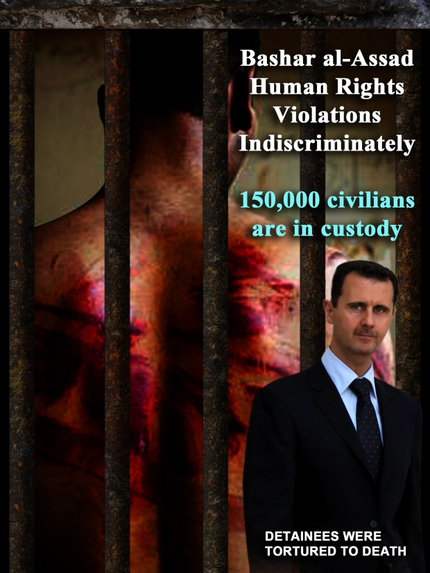 Syria Assad Regime torture detainees to death