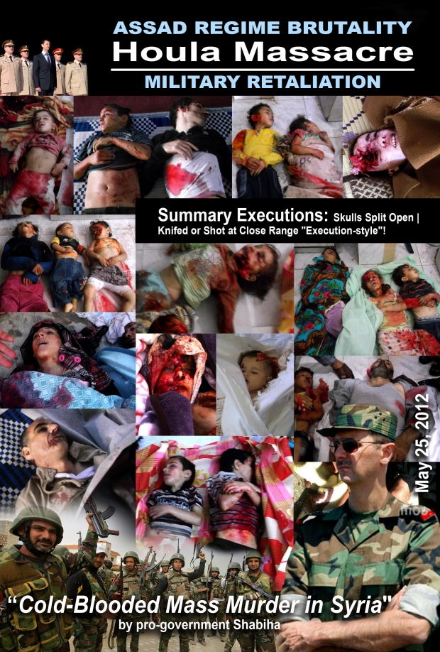 Syria Houla Massacre by pro-government Shabiha