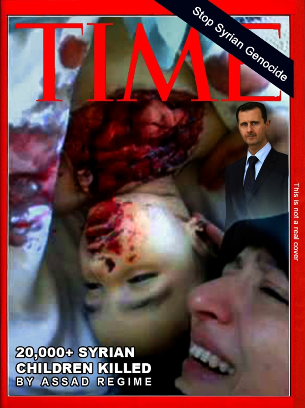 Syria Assad War Chemical Attack Torture execution
