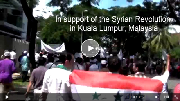 Malaysia support syrian