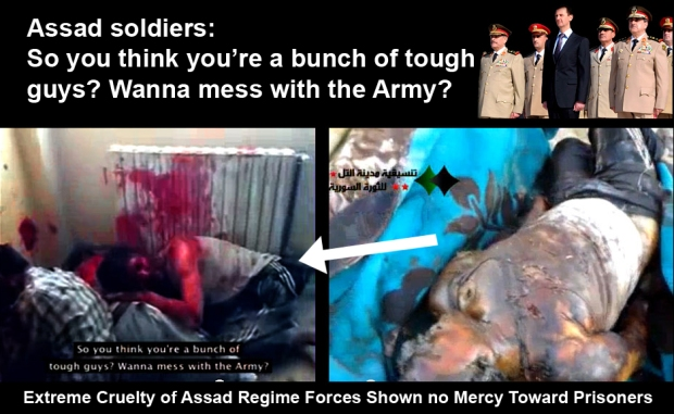 Syria Assad regime loyal army crime against humanity