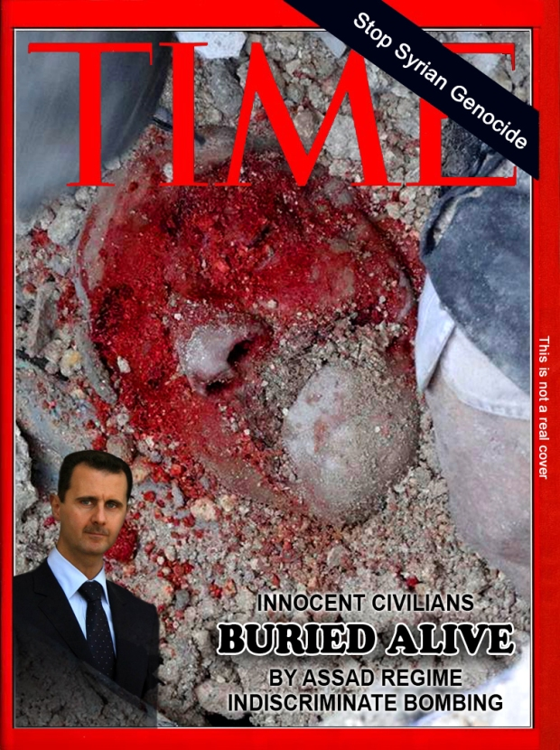 Syria Assad regime barrel bombs attack on civilian area indiscriminately