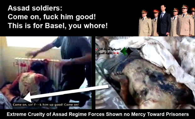 Syria Assad regime brutality toward prisoners