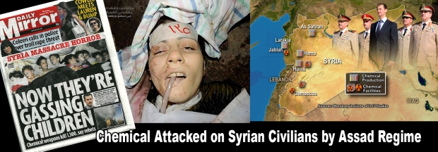 Assad Syria War chemical attack
