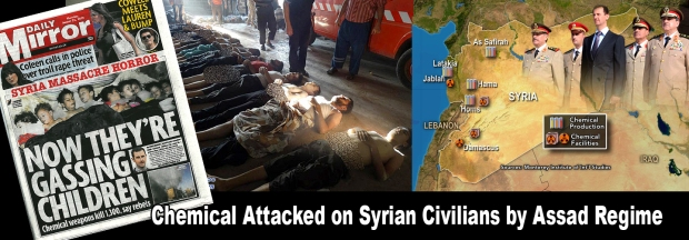 Syria Assad Regime chemical attack on civilians