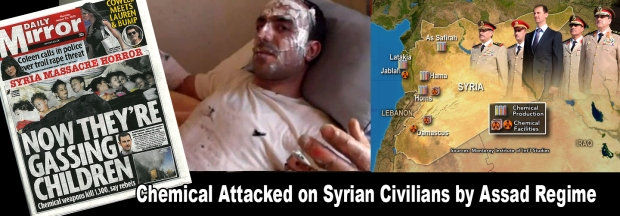 Syria Assad Regime's chemical weapon