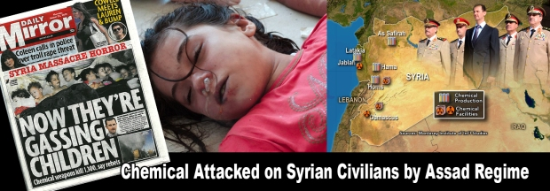 Syrian Civil War - Chemical Attack by Assad regime
