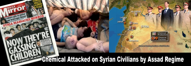 Syria Assad Chemical Attack War Crime
