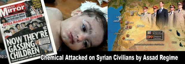 Syria Assad regime chemical sarin nerve agent