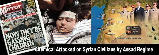 Syria Assad chemical weapons attack allegation