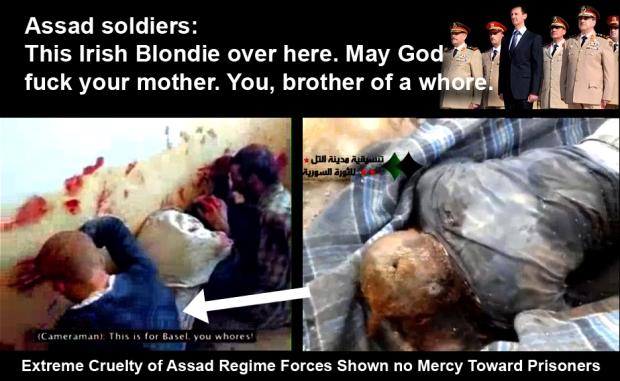 Syria Bashar al-Assad regime genocide