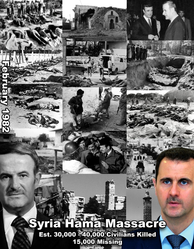 1982 Hama Massacre in Syria