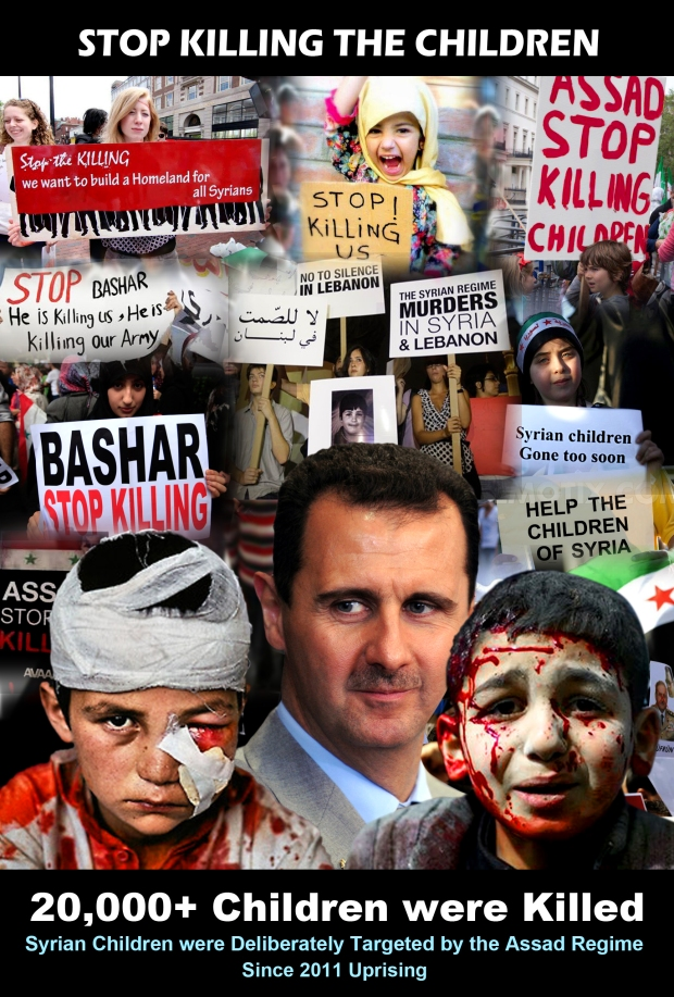 assad massacre children syria isis